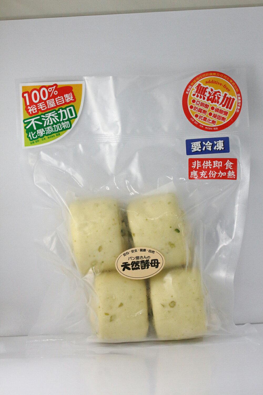 青豆仁饅頭(4入)