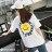F-DNA★笑臉1789前後印圖圓領短袖上衣T恤(2色-M-2XL)【ET12717】 1