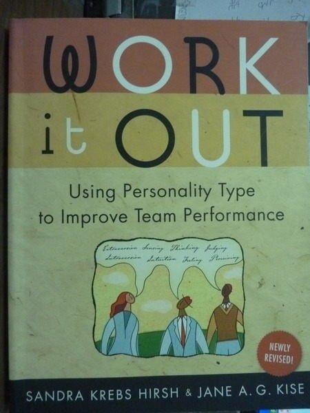 【書寶二手書T6/原文書_QOQ】Work it Out_Hirsh, Kise