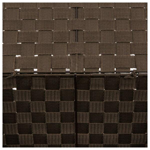 附蓋收納盒 TICS2 標準型 DBR NITORI宜得利家居 6