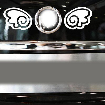 A0160 天使翅膀 車身貼紙 車窗貼 AUDI VW FORD BMW BENZ TOY