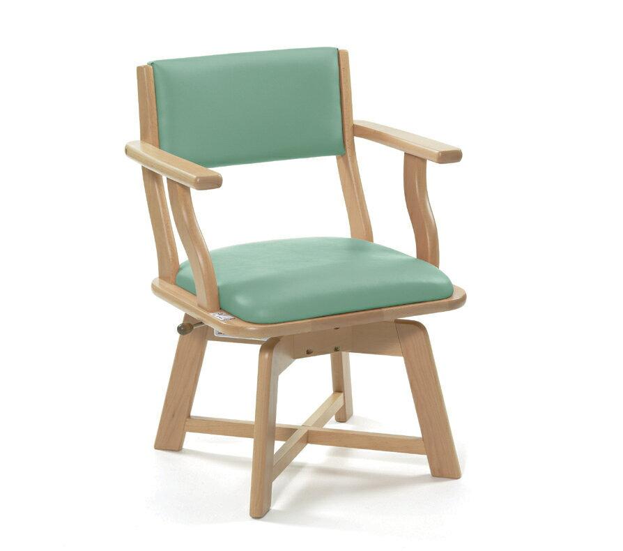 老人當家-貝親旋轉椅_綠色/42CM