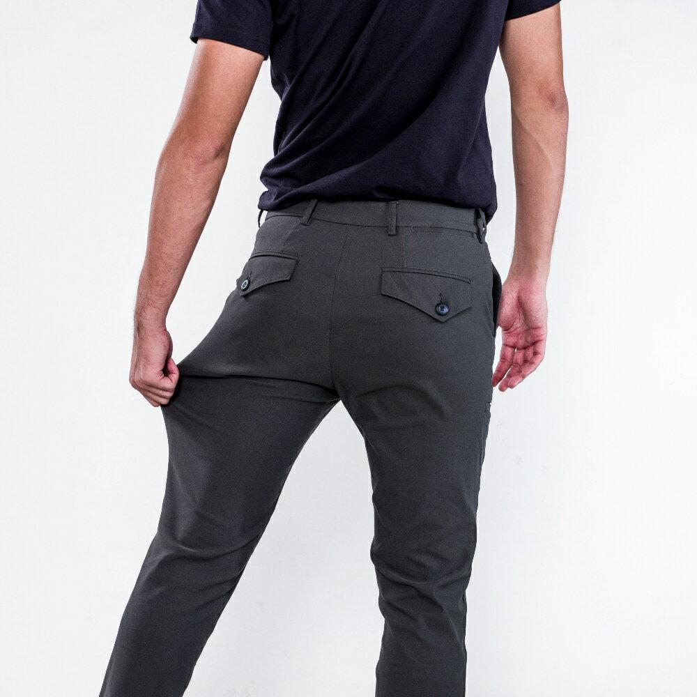 深邃灰八口袋商旅紳士褲 MANHATTAN GREY 8 POCKETS 2