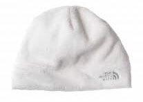 The North Face 刷毛 保暖帽 / 透氣/ 快乾/賞雪/登山/雪 白色 AN7VEY8