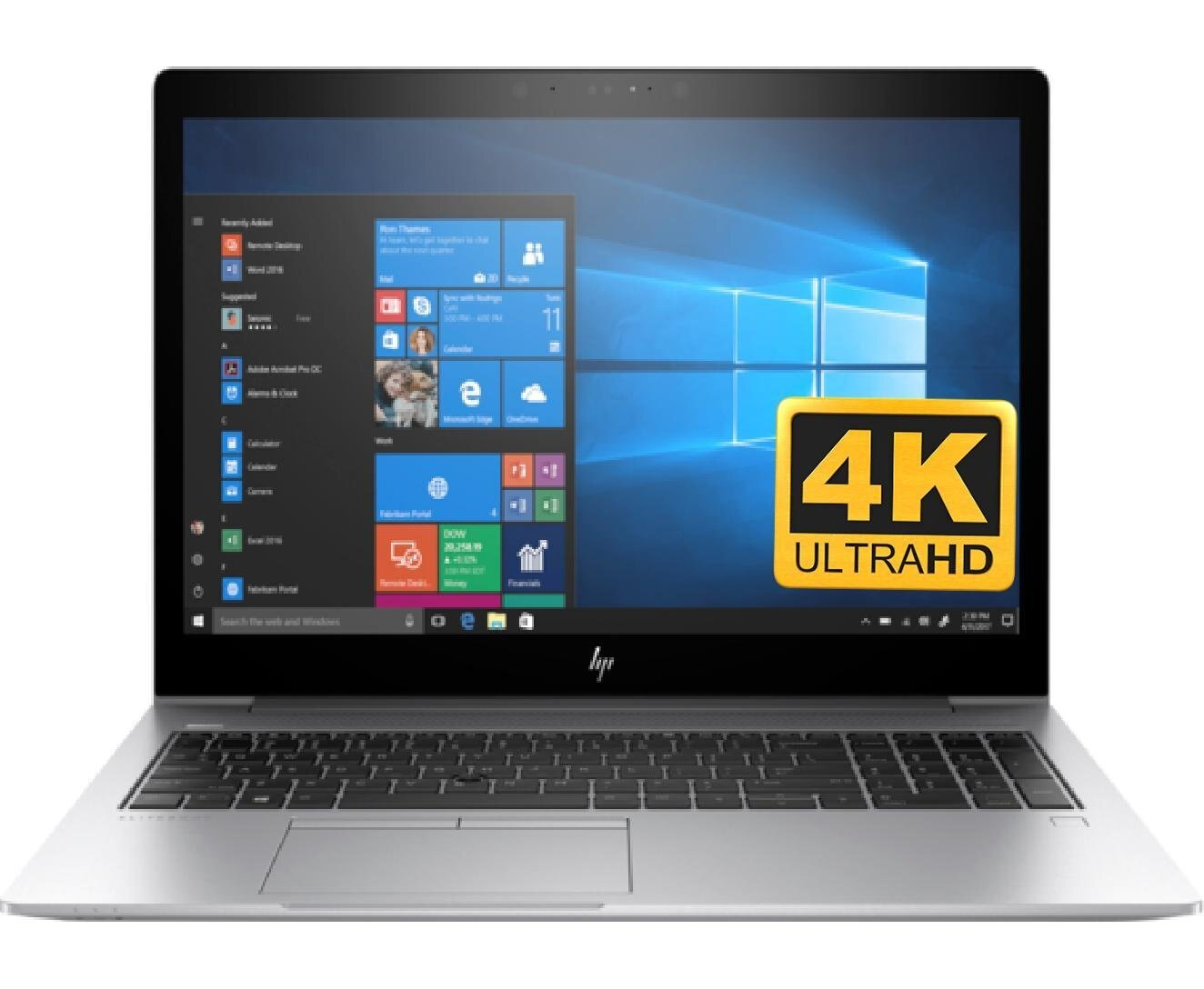 HP EliteBook 850 G5 Premium 15 6 UHD Laptop Notebook PC (Intel 8th Gen  i7-8550U Processor, 16GB RAM, 128GB SSD, 15 6