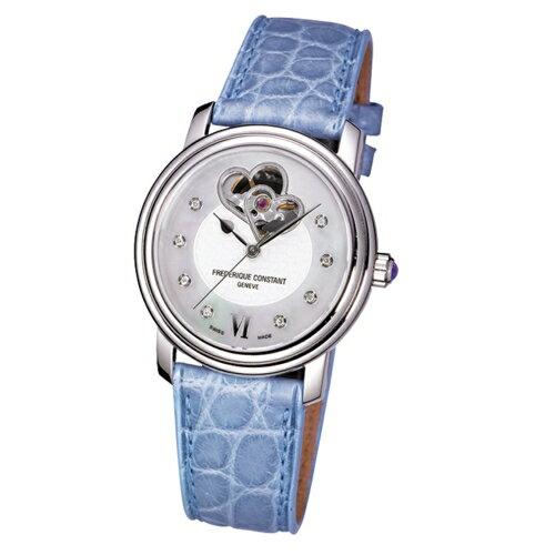 CONSTANT 心心相繫珍愛女鑽錶 鱷魚皮錶帶 ~  好康折扣