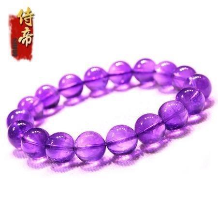 紫水晶 紫水晶手鏈 愛情守護石 美女款