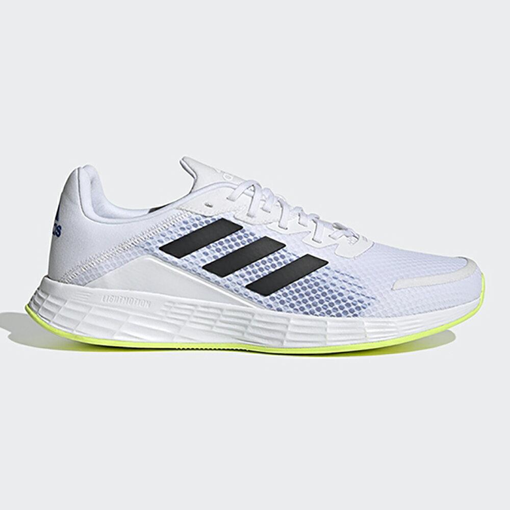 【滿額最高折318】ADIDAS DURAMO 9 男鞋 慢跑 訓練 Lightmotion 避震 輕量 白 黑【運動世界】FY6683