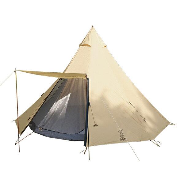 日本 DOPPELGANGER  / DOD 營舞者印地安八人帳 /  露營帳篷 / T8-200。1色-日本必買 日本樂天代購(25920*11)。滿額免運 1