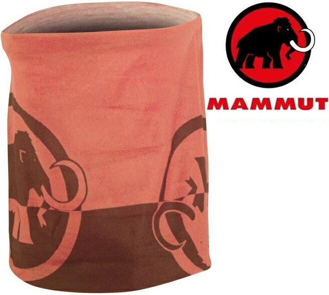 Mammut 長毛象 透氣排汗頭巾 Zion 1090-05000 3427小蘗紅