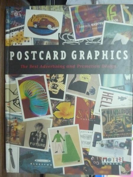 【書寶二手書T9/設計_PIR】Postcard Graphics_Stefan Sagmeister