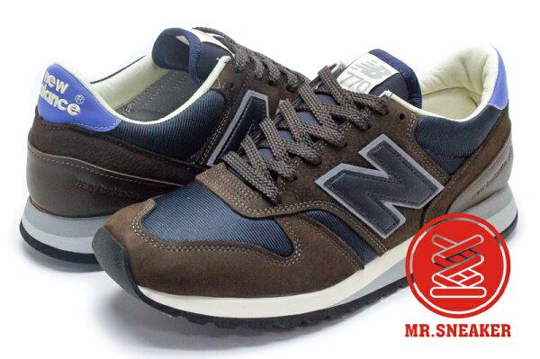 ☆Mr.Sneaker☆NEWBALANCE770NorseProjects英製限量聯名咖啡男段