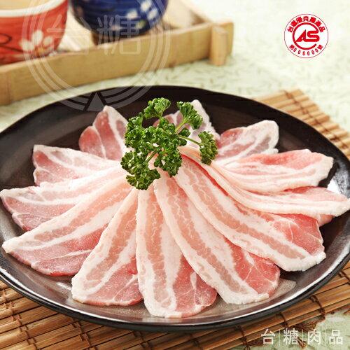 台糖安心豚 白玉五花肉片(200g/盒)