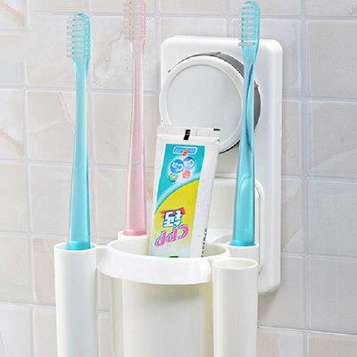 牙刷牙膏專用架-強力吸盤式【SV7813】快樂生活網
