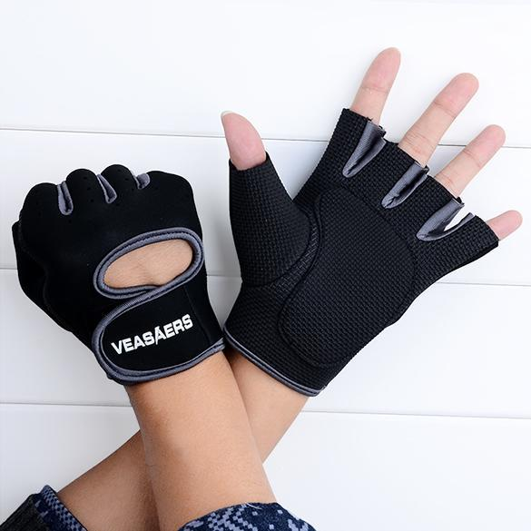 Sport Cycling Fitness GYM Half Finger Weightlifting Gloves Exercise Training 2
