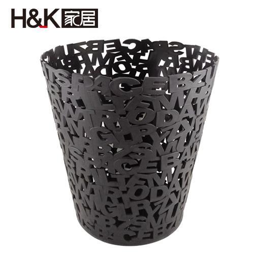 H&K 北歐現代簡約垃圾桶(12L)【愛買】 0