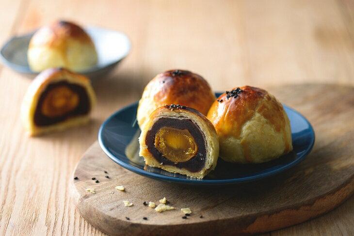 金葡萄蛋黃酥(綜合口味12入/盒裝)