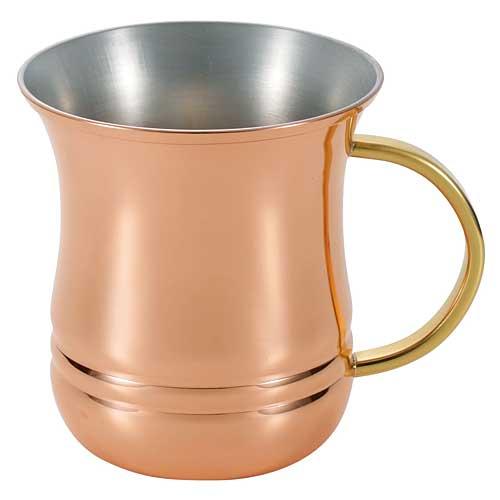 日本ASAHI食樂工房CNE902冷飲馬克杯360ml(1入)純銅製 /  / 日本十大必買露營用品 1
