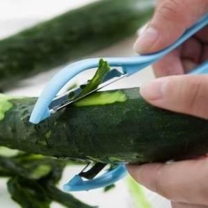 美麗大街【BF079E23】不銹鋼雙面刀頭削皮器 廚房多功能蔬菜水果快速刨皮器