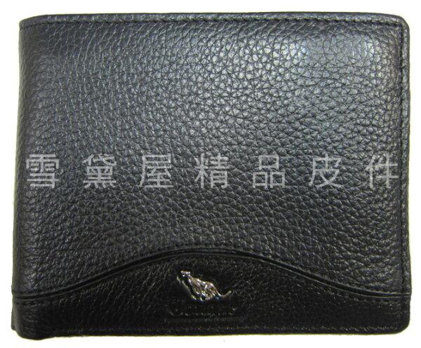 ~雪黛屋~Cougar短夾專櫃男仕短夾100%進口牛皮革材質標準尺寸固定型證件夾NCG6510