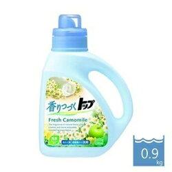 【日本LION】清新甘菊柔軟洗衣精-900ml 部屋乾 柔軟精成分 無添加漂白劑 防腐劑 換裝新上市