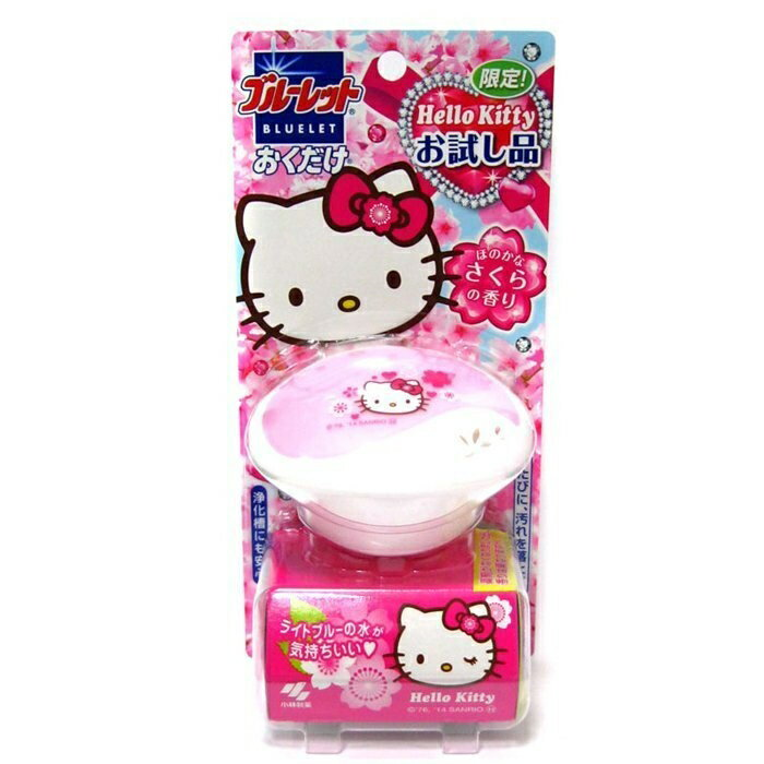 日本小林 Hello kitty省水馬桶用消臭芳香劑-櫻花限定版