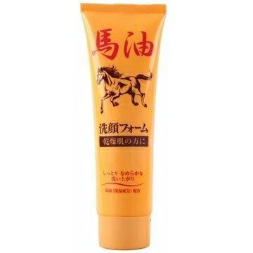 【JUN-COSMETIC】日本原裝 馬油洗面乳 120g / 純藥株式會社 天然保濕 修復 無色素 弱酸性