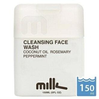 【澳洲 Milk&Co】男用深層洗面乳-150ml 天然 各肌膚均適用 無添加 無香精 無色素 無化學成分