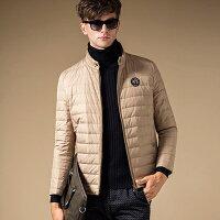 保暖服飾推薦羽絨外套 短款外套-休閒時尚風格內裡設計男外套6色72aj16【獨家進口】【米蘭精品】