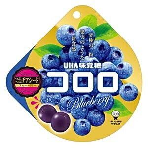 [人氣日本零食]UHA味覺糖100%果汁軟糖-藍莓 40g