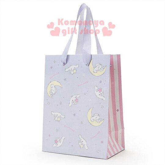 〔小禮堂〕大耳狗 紙提袋~S.紫.星星.月亮~送禮包裝最方便.慵懶舒眠系列