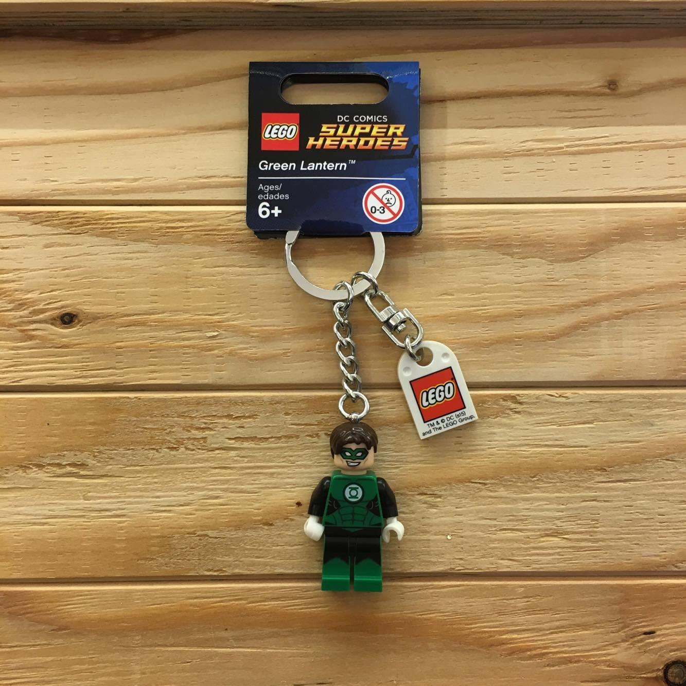 BEETLE LEGO SUPER HEROES GREEN LANTERN 綠燈俠 樂高 積木 鑰匙圈 玩具 0
