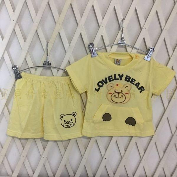 ☆╮寶貝丹童裝╭☆ 可愛 動物 造型 透氣 舒適 男女童 上衣+小褲 短袖 套裝 新款 現貨 ☆