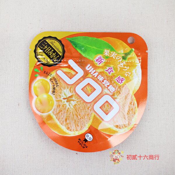 【0216零食會社】日本UHA味覺糖-Kororo蜜柑軟糖40g