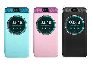 ASUS Zenfone Selfie ZD551KL專用 5.5吋原廠透視皮套 盒裝公司貨 好買網