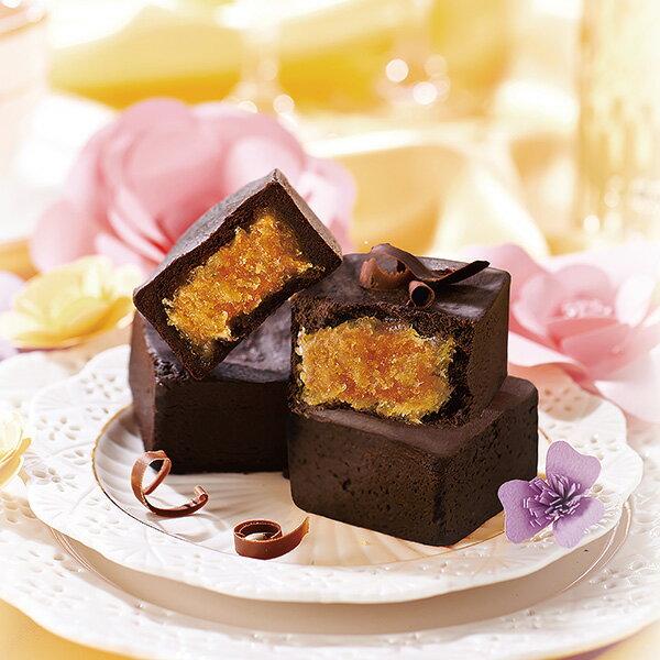 驚艷滋味!70%巧克力撞上鳳梨酥★巧克力鳳梨酥9入禮盒(宅配賣場) 【禮坊rivon】