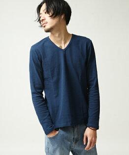 橫條紋T恤NAVY