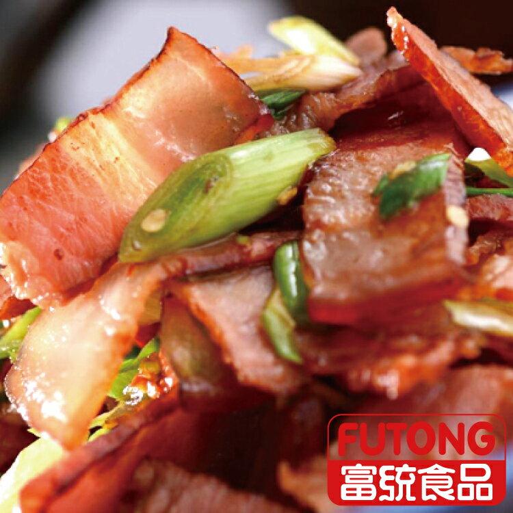 【富統食品】蔗香煙肉300g (生三層肉)《2016蘋果年菜亞軍》 2