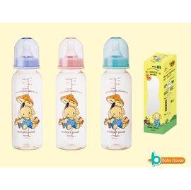 【淘氣寶寶】PES材質防脹氣大奶瓶250ml【耐熱度180】顏色隨機