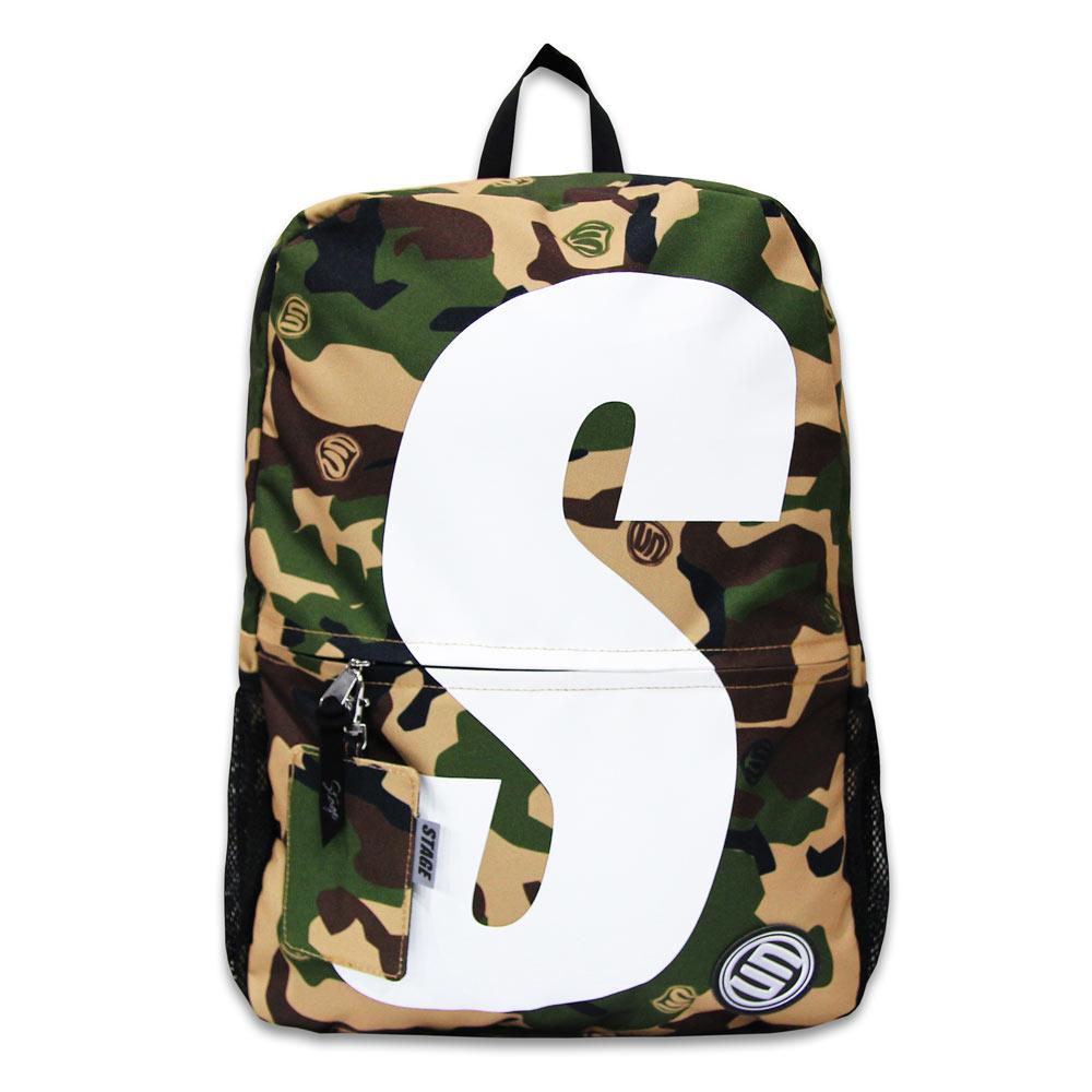 STAGE SUPER S BACKPACK 軍綠迷彩 / 卡其迷彩 兩色 2