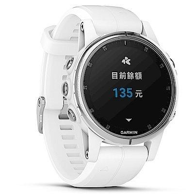【免運】GARMIN fenix 5S Plus 複合式運動GPS音樂心率腕錶 贈日本SASAKI運動毛巾 6