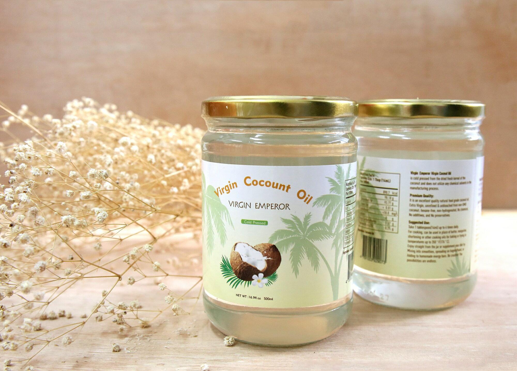 阿邦小舖 椰皇 斯里蘭卡 冷壓初榨椰子油 500ml
