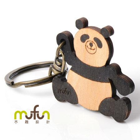 [mufun] 餅乾鑰匙圈 大貓熊