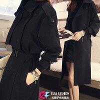 風衣外套推薦到雙排釦長大衣 姚窕淑女秋冬百搭雙排釦風衣外套 艾爾莎【TAK5702】就在艾爾莎時尚精品推薦風衣外套