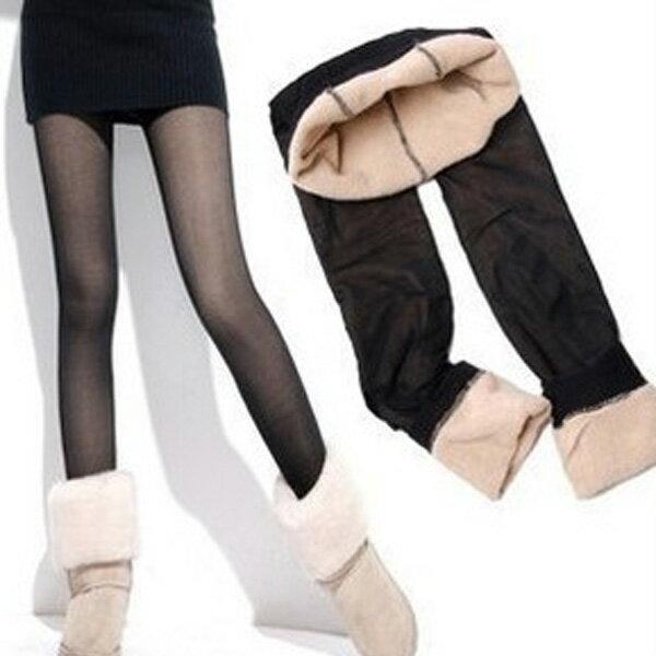 內搭褲 假透肉多色加厚保暖內搭褲毛襪褲襪 艾爾莎【TOY2238】 2