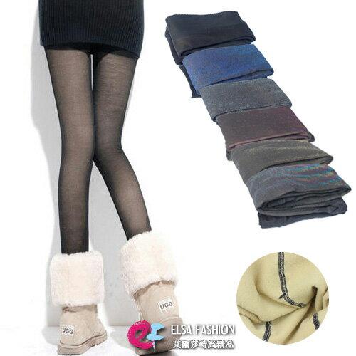 內搭褲 假透肉多色加厚保暖內搭褲毛襪褲襪 艾爾莎【TOY2238】 0