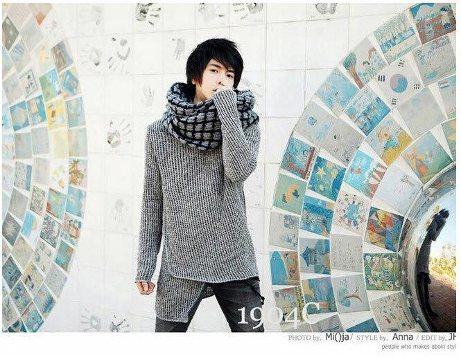 圍巾絲巾*艾爾莎*韓風加厚情侶款毛線潮男款女士保暖圍巾【TOY2150】 1