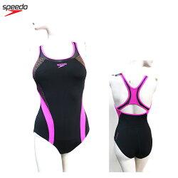 [55折]SPEEDO 女人運動連身泳裝 Fit Pinnacle Kickbac SD809669A318