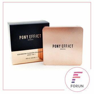 【12/22 12:00 整點特賣】PONY EFFECT 持久UV控油氣墊粉餅