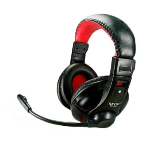 耳麥 團購價 KINYO EM-3651 飛鷹戰將 電競超重低音立體聲耳機麥克風 抗噪音 耳麥/英雄聯盟/CS/天堂2/RC語音/魔獸軍令官